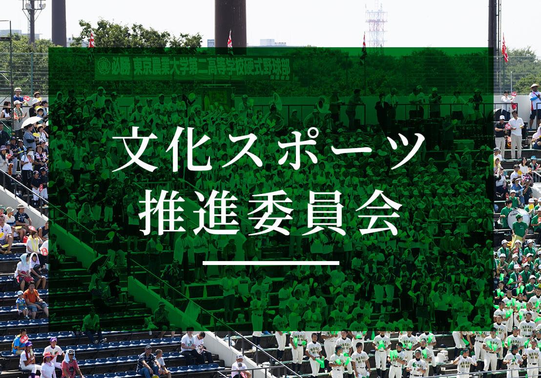 文化スポーツ推進委員会のお知らせ